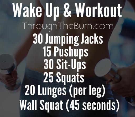 Wakeup & Work Out