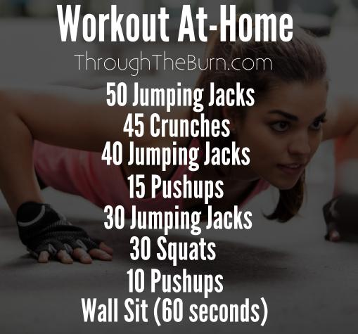 Workout At-Home Routine