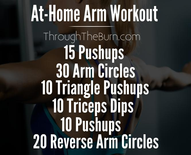 At-Home Arm Workout