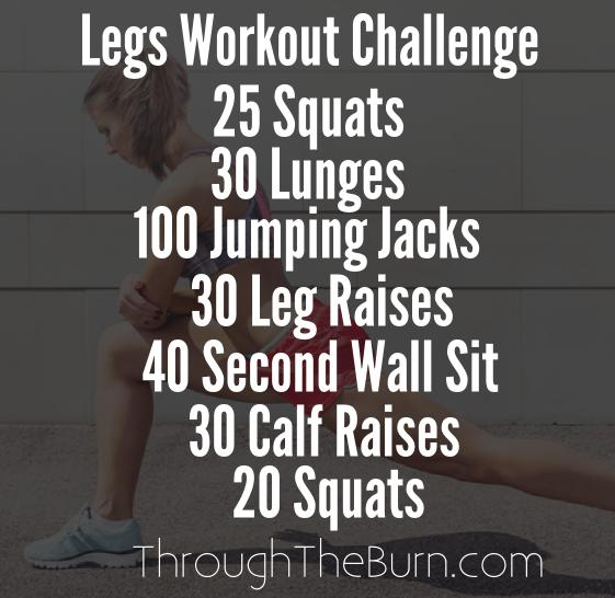 Legs Workout Challenge