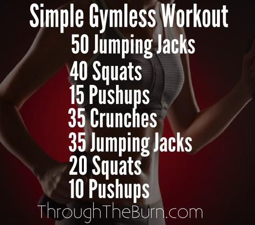Simple Gymless Workout