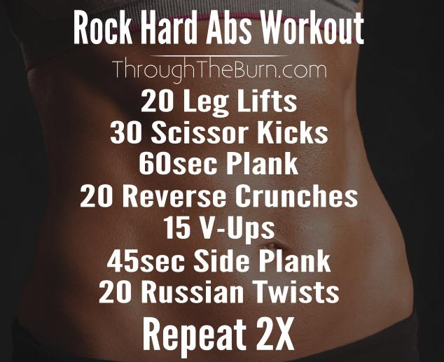 Rock Hard Abs Workout