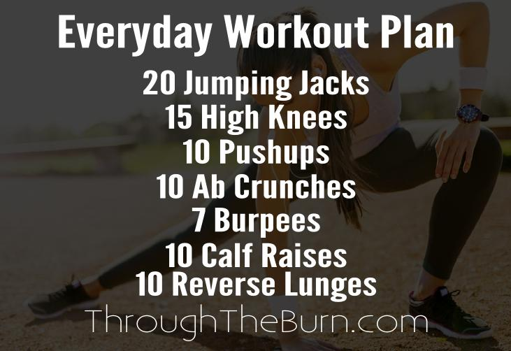 Everyday Workout Plan
