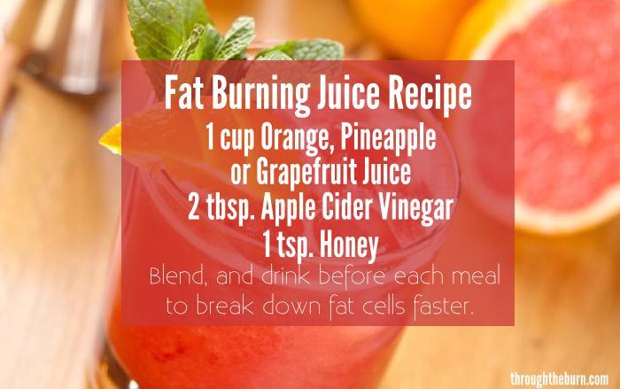 Fat Burning Juice Recipe