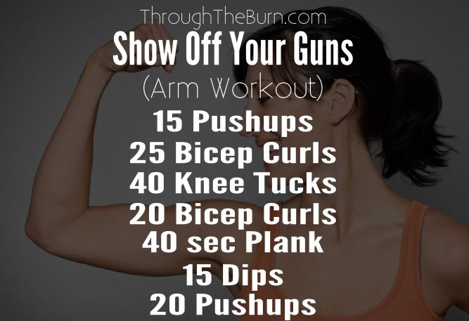 Intense Arms Workout Plan