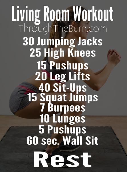 Living room workout for Living room exercises
