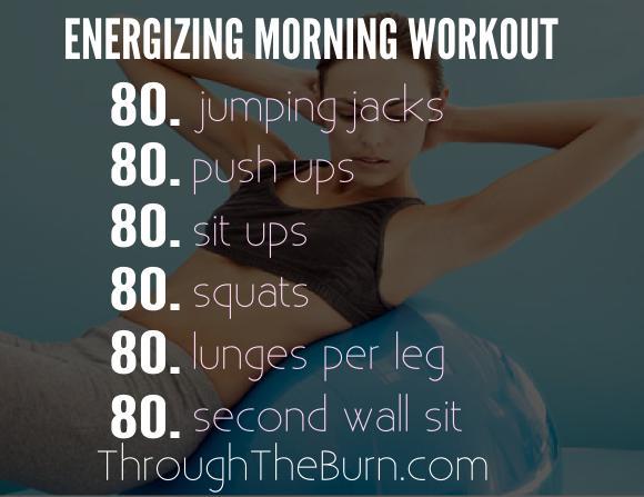Energizing Morning Workout