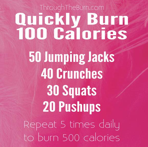 Quickly Burn 100 Calories